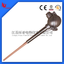 Pt-rh thermocouple type r s b for glass industry