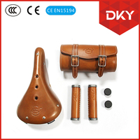 DKYBIKES/ GENUINE LEATHER ACCESSORIES FOR ELECTRIC BICYCLE/BIKES