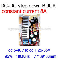 Made in china DC DC step down adjustable power supply module 5-40V to dc 1.25-36V 8A 10A 12A for car power supply