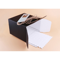 Factory price wholesale paper printed powdery cake box package for cupcake