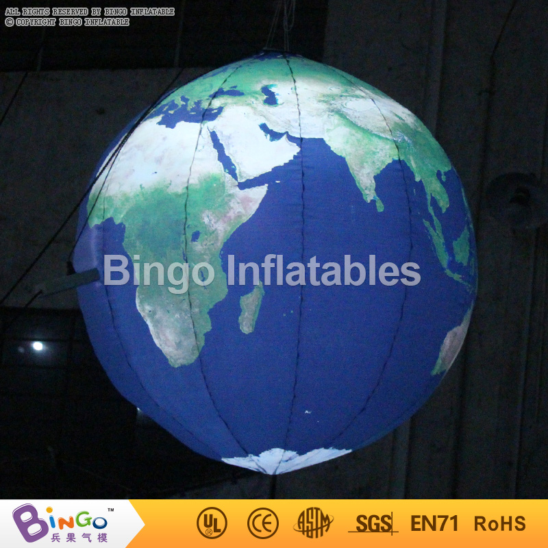 Giant inflatable earth balloon , inflatable earth globe , inflatable planet