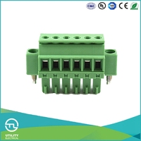 UTL Zhejiang Good Quality 2 TO 24 Number Of Contacts Pcb Screw Terminal Block Connector