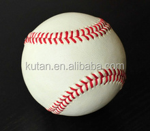 Top quality professional baseball balls made of cowhide leather baseball