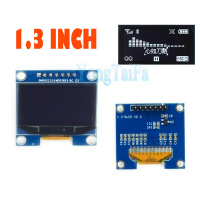 OLED 1.3 inch 128*64 White SPI and IIC Module LCD LED Display Module