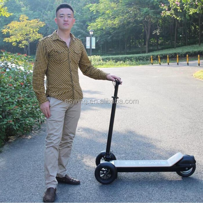 Outdoor Small and Cheap Electric Tricycle foot Scooter Folding 3 Wheel Car For Sale
