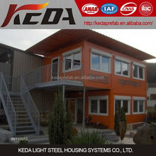 Modern Designed Prebuilt House Container Home Office Building for Sale