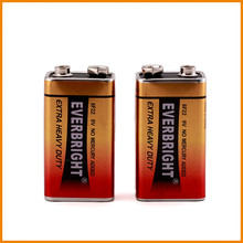 Carbon zinc/ dry cell batteries 9v 6F22