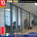 Australia standard double glass office sliding partition door