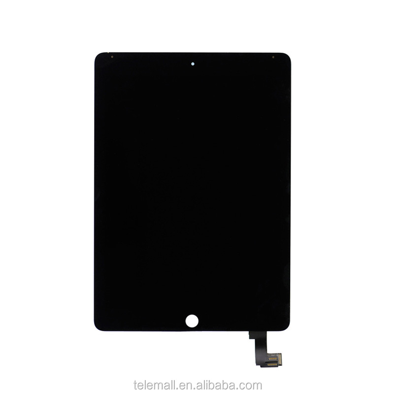 Original New For Ipad Air 2 2nd ipad 6 A1567 A1566 LCD Display Touch Screen Digitizer Glass Lens Assembly Replacement