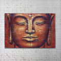 2016 Products Handmade Canvas Buddha Relief Oil Painting