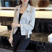 2017 skin velvet short coat woman coat leisure jacket