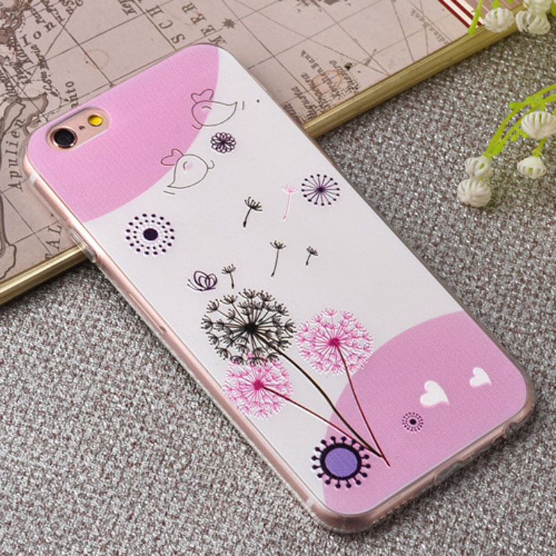 PC TPU Mobile Phone Case Cover for iphone 6 Vintage Case