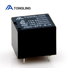 wholesale JQC-3FF(t73) realy DC5V 4 pin mini 10a electromagnetic relay