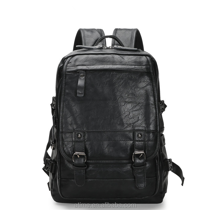 Modern design Men Bags Leather Shoulder Custom Back Pack High Quality Backpack Bag