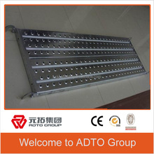 Galvanized Steel catwalk for the scaffolding materials list for sale