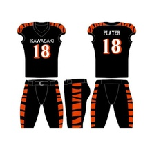 2019 Custom Design Wholesale Sublimated Youth American Football Jersey