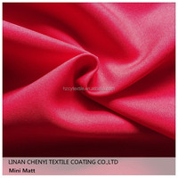 100% polyester solid dyed minimatt fabric