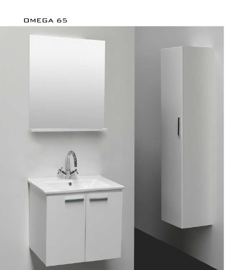 Omega 65 Bathroom Furniture - Bathroom Cabinet - Bathroom Vanity