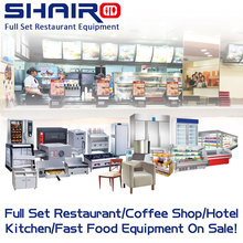 KFC Fast Food Restaurant Kitchen Equipment