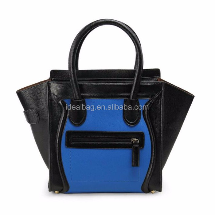 Wholesale New arrival ladies handbag good quality fashion style ladies leather tote bag