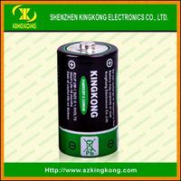 1# R20 Dry Cell Battery 1.5v D SIZE ZINC Carbon battery Outperforms