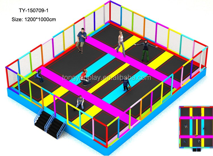 Gymnastics trampoline for kids