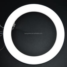 Aluminum 12w natural white circular 225mm led ring tube light