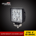 "New 4"" 27W off road 4x4 utv jeep led lamp led working light driving light sm6271"