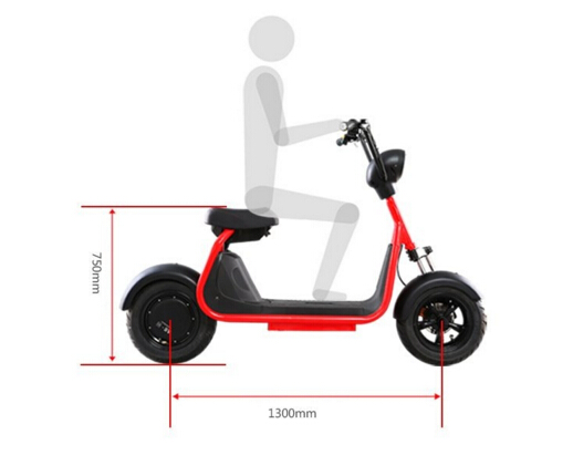 Low price 1500W 60KPH 2 Seat Person Hub Motor Wheel Electric Motorcycle Gogoro Scooter