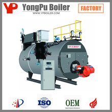 3 Pass GAS Fired Boilers Steam Turbine Price