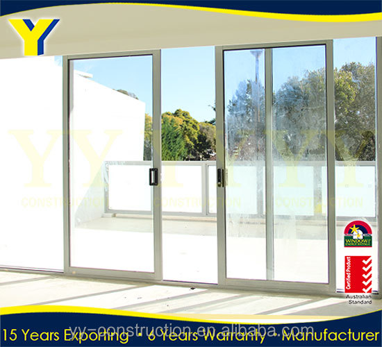 glass double glazed stacking doors / sliding doors for Christan Church