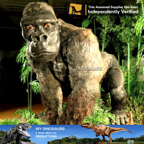 My-Dino Life size animatronic animal figure christmas decoration gorilla