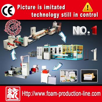 CE Approved PS Foam Tray Making Machine(TY-1040)