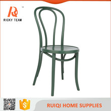 Long back green dinning chair green salon rest chair