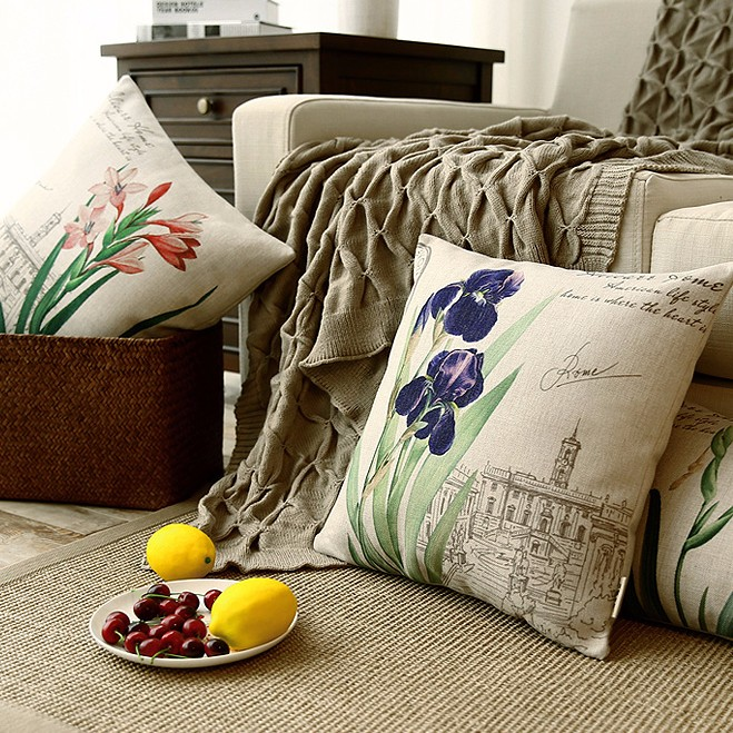 Wholesale digital printing new design cushion cover