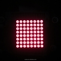 8*8 red led dot matrix