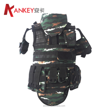 Best Price NIJ Standard Tiger Camouflage Bulletproof Vest With Functional Packs And Additional Protection Area