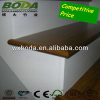 bamboo floor stairs tread moulding