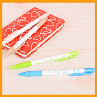 Promotional Cheap Retractable Plastic Ballpoint Pen YB-203