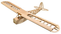 Balsa Wood Airplane Model J3 Balsa Kit 1.2M For Electric Power Only KIT