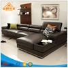 Modern Leather Sectional Sofa Home Furniture