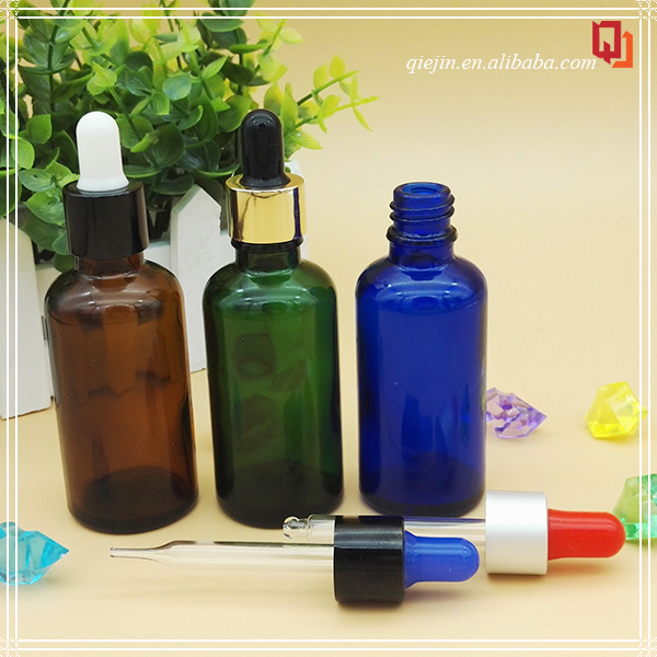 child proof and tamper dropper bottle blue amber 30 ml for giving out samples of with child resistant droppe with spray cap 30ml