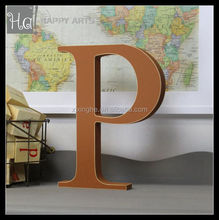 Decorative painted greek wooden letters