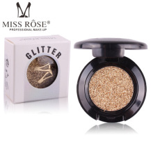 DHL Free shipping Miss Rose Brand Glitters Single Eyeshadow Glitter Eye Shadow Palette 24 Colors Eye Shadow