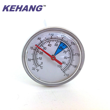 High quality water or milk temperature thermometer gauge