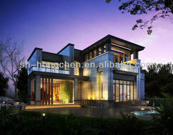 PREFABRICATED HOUSE BUILDING/INSULATION PREFAB HOUSE/COMPETITVE PRICE PREFAB HOUSE