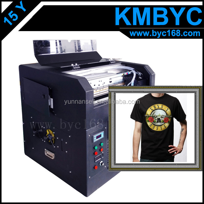 Factory Outlets Tshirt DIgital Flatbed Printer /Directly print on Shirt /Multicolor Digital Printer