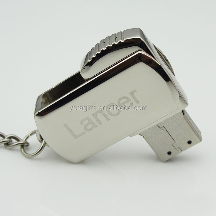 Free Logo Keychain Metal Mini Pormo USB Flash Drive