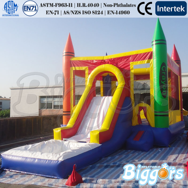 Inflatable Water Slide Port Macquarie: Commercial Inflatable Bouncy Castle With Water Slide