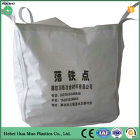 Accept custom order flexible bulk bag container for sand,rice,cement, worldwide selling FIBC, high quality jumbo bag